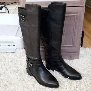 Lucky Brand Black Riding Boots